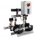 Surpresseur Grundfos HYDRO MULTI-S 2 CM 1-2/P de 1,4 à 5 m3/h entre 16 et 6 m HMT Tri 220 415 V 0,46 kW - dPompe.fr