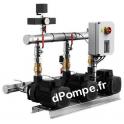 Surpresseur Grundfos HYDRO MULTI-S 3 CM 1-7/P de 2,1 à 7,5 m3/h entre 58 et 23 m HMT Tri 220 415 V 0,65 kW - dPompe.fr
