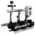 Surpresseur Grundfos HYDRO MULTI-S 3 CM 3-4/P de 2,4 à 12,9 m3/h entre 35,5 et 18 m HMT Tri 220 415 V 0,46 kW - dPompe.fr