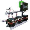 Surpresseur Grundfos HYDRO MULTI-E 3 CME 3-3/P U1 de 2,8 à 15,5 m3/h entre 38 et 19 m HMT Tri 400 V 1,1 kW - dPompe.fr