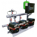 Surpresseur Grundfos HYDRO MULTI-E 3 CME 5-5/P U2 de 4,7 à 22,6 m3/h entre 65,5 et 40 m HMT Tri 400 V 2,2 kW - dPompe.fr