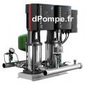 Surpresseur Grundfos HYDRO MULTI-E 2 CR(I)E 3-4/P U2 de 2,8 à 10,8 m3/h entre 35 et 13 m HMT Tri 400 V 0,55 kW