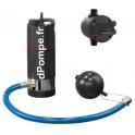 Pompe Immergée Grundfos SB BOOSTER 3-45MW + PM1-2.2 de 2,4 à 5,4 m3/h entre 32 et 10 m HMT Mono 220 240 V 0,54 kW