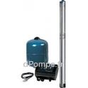 """Pompe Immergée 3"""" Grundfos SQE SYSTEM 3-105 avec 80 m de Câble 1,5 à 3,5 m3/h entre 140 et 97 m HMT Mono 200 240 V 1,85 kW - dPo"""