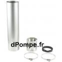 """Chemise de Refroidissement Grundfos Ø 115 (130) x 1000 pour Moteur 4"""" - dPompe.fr"""