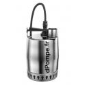 Pompe de Relevage Grundfos UNILIFT KP 250 M 1 de 2 à 10,6 m3/h entre 7 et 1 m HMT Mono 220 240 V 0,48 kW avec 10 m de Câble