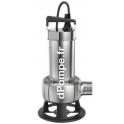 Pompe de Relevage Grundfos UNILIFT AP50B.50.08.3.V de 4 à 24,5 m3/h entre 9,5 et 2,7 m HMT Tri 380 400 V 1,25 kW - dPompe.fr