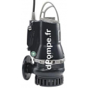 Pompe de Relevage Grundfos DP10.65.26.E.2.50B de 3,6 à 43,2 m3/h entre 24,5 et 11 m HMT Tri 400 415 V 2,6 kW AUTOADAPT - dPompe.