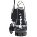 Pompe de Relevage Grundfos DP10.65.26.E.EX.2.50B de 3,6 à 43,2 m3/h entre 24,5 et 11 m HMT Tri 400 415 V 2,6 kW AUTOADAPT ATEX -