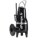 Pompe de Relevage Grundfos SLV.65.65.09.A.2.50B de 3,6 à 37 m3/h entre 6,1 et 0,4 m HMT Tri 400 415 V 0,9 kW avec Flotteur et Co