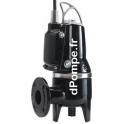 Pompe de Relevage Grundfos SLV.65.65.09.E.EX.2.50B de 3,6 à 37 m3/h entre 6,1 et 0,4 m HMT Tri 400 415 V 0,9 kW AUTOADAPT ATEX -
