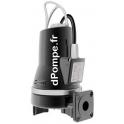 Pompe de Relevage Grundfos SEG.40.09.2.50B de 1,8 à 16,2 m3/h entre 13,3 et 1,7 m HMT Tri 400 415 V 0,9 kW - dPompe.fr