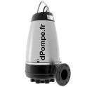 Pompe de Relevage Grundfos SE1.50.80.40 de 7,2 à 75,6 m3/h entre 25 et 13,5 m HMT Tri 380 415 V 4 kW ATEX avec Capteur - dPompe.