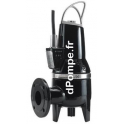 Pompe de Relevage Grundfos SLV.65.80.30 de 7,2 à 45 m3/h entre 19,6 et 5,4 m HMT Tri 380 415 V 3 kW 2 Pôles avec Capteur - dPomp