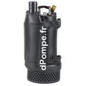 Pompe de Relevage Grundfos DWK O.6.50.15.5.0D de 2 à 27,4 m3/h entre 16,7 et 8 m HMT Tri 380 415 V 1,5 kW - dPompe.fr