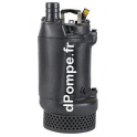 Pompe de Relevage Grundfos DWK O.6.80.15.5.0D.R de 2 à 26,5 m3/h entre 17,3 et 6,5 m HMT Tri 380 415 V 1,5 kW - dPompe.fr