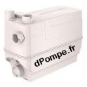 Cuve de Relevage Grundfos SOLOLIFT2 C-3 de 0,6 à 12,3 m3/h entre 8,5 et 1 m HMT Mono 220 240 V 0,64 kW - dPompe.fr