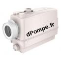 Cuve de Relevage Grundfos SOLOLIFT2 CWC-3 de 0,6 à 8,2 m3/h entre 8,4 et 0,2 m HMT Mono 220 240 V 0,62 kW - dPompe.fr