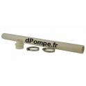 Tuyau Flexible Adaptation Grundfos PVC 50 CM ‑ Int 32 mm ‑ Adaptateur Sortie ‑ 2 Colliers de Serrage - dPompe.fr