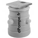 Cuve pour Relevage Grundfos LIFTAWAY B40-1 à Équiper d'une Pompe UNILIFT AP A1/A3 - dPompe.fr