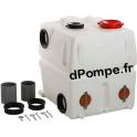 Réservoir PE Supplémentaire 450 Litres Grundfos avec Raccords, Couvercles, Joints et Boulons d'Ancrage - dPompe.fr