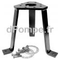 Pied de Support Vertical Grundfos DN 200 - dPompe.fr