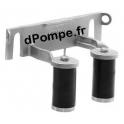 """Support de Rail de Guidage Intermédiaire Grundfos DN65 x 2""""1/2 pour Pompe SL1/SLV/SE1 65 - dPompe.fr"""