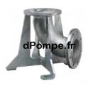 Châssis pour Installation Verticale en Fosse Sèche Acier Galvanisé Grundfos DN65 pour Pompe SE1 50 - dPompe.fr
