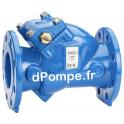 Clapet Anti-Retour à Boule Fonte Grundfos PN10 à Brides DN 80 - dPompe.fr