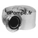 Tuyau de Refoulement Grundfos DN 150 Longueur 10 m avec Raccords Storz - dPompe.fr