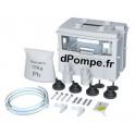 Bac Réserve Neutralisant Grundfos pH+ box Conlift avec 1,2 kg Granulat, Raccords et Indicateur pH - dPompe.fr