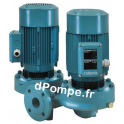 Pompe en Ligne Double Calpeda NRD 50-125F de 30 à 54 m3/h entre 13,3 et 8,1 m HMT Tri 230 400 V 1,1 kW - dPompe.fr