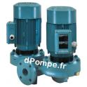 Pompe en Ligne Double Calpeda NRD 50-125C de 30 à 66 m3/h entre 17 et 9,3 m HMT Tri 230 400 V 1,5 kW - dPompe.fr