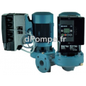 Pompe en Ligne Double Calpeda NRD EI 65-125A de 42 à 120 m3/h entre 24,9 et 13,1 m HMT Tri 400 690 V 4 kW - dPompe.fr