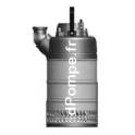 Pompe de Chantier Vortex Calpeda KAPPA K120.2.50 HM de 3,6 à 21,6 m3/h entre 20 et 3,7 m HMT Mono 230 V 1,2 kW - dPompe.fr