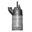 Pompe de Chantier Vortex Calpeda KAPPA K220.2.80 HT de 3,6 à 36 m3/h entre 22,4 et 9,5 m HMT Tri 400 V 2,2 kW - dPompe.fr