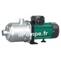 Pompe de Surface Wilo Medana CH1-L 203-1 Inox 304 de 0,2 à 3,9 m3/h entre 28 et 5 m HMT Tri 400 V 0,37 kW - dPompe.fr