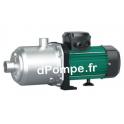 Pompe de Surface Wilo Medana CH1-L 207-2 Inox 316 de 0,2 à 3,9 m3/h entre 65 et 19 m HMT Tri 400 V 0,75 kW - dPompe.fr
