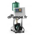 Surpresseur Wilo Isar MODH1-1 202/EC de 0,2 à 3,9 m3/h entre 19 et 5 m HMT Tri 400 V 0,37 kW - dPompe.fr