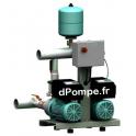 Surpresseur 2 Pompes Wilo Comfort-Vario COR-2 MHIE 205/MS de 1 à 13,5 m3/h entre 72 et 5 m HMT Tri 400 V 1,1 kW - dPompe.fr