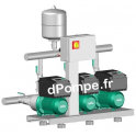 Surpresseur 3 Pompes Wilo Comfort-Vario COR-3 MHIE 1602/MS de 10 à 98 m3/h entre 31 et 2 m HMT Tri 400 V 2,2 kW - dPompe.fr