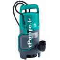 Pompe de Relevage Wilo Initial WASTE 16-11 de 2 à 16,5 m3/h entre 10,1 et 2,8 m HMT Mono 230 V 0,75 kW - dPompe.fr