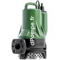 Pompe d'Épuisement Dab DRENAG FX 15.15 T de 4 à 24 m3/h entre 24 et 10 m HMT Tri 400 V 1,8 kW - dPompe.fr