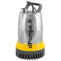 Pompe d'Épuisement Dab MULTIDRAIN UV 315-1 de 2 à 28 m3/h entre 13 et 1 m HMT Mono 230 V 1,36 kW - dPompe.fr