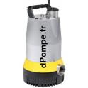 Pompe d'Épuisement Dab MULTIDRAIN UV 635-3 de 14 à 39 m3/h entre 24 et 10 m HMT Tri 400 V 3,25 kW - dPompe.fr