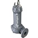 Pompe de Relevage Zenit GREY DRG 750/2/80 B0 TS de 14,4 à 129,6 m3/h entre 21,2 et 6,7 m HMT Tri 400 V 5,5 kW - dPompe.fr