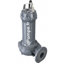 Pompe de Relevage Zenit GREY DRG 200/4/80 TS de 14,4 à 86,4 m3/h entre 7,7 et 1,3 m HMT Tri 400 V 1,5 kW - dPompe.fr