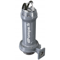 Pompe de Relevage Zenit GREY APG 550/2/G50H TS de 3,6 à 28,8 m3/h entre 37,6 et 25,4 m HMT Tri 400 V 2,2 kW - dPompe.fr