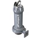 Pompe de Relevage Zenit GREY APG 1000/2/G50H TS de 3,6 à 36 m3/h entre 51,8 et 31,2 m HMT Tri 400 V 4 kW - dPompe.fr