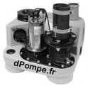 Station de Relevage Dab COMPLI 310E de 11 à 30 m3/h entre 6 et 1 m HMT Mono 230 V 0,98 kW - dPompe.fr